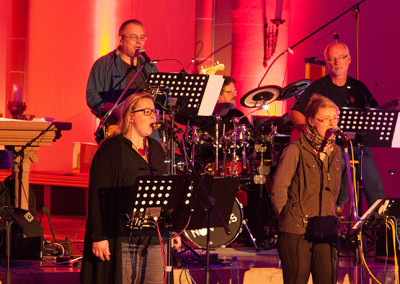 musikalische Impulse in der illuminierten St. Michael-Kirche
