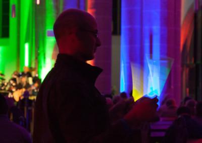 """Veranstaltung """"Geistreich"""" – Meditatives Lichtspiel in der Kirche"""