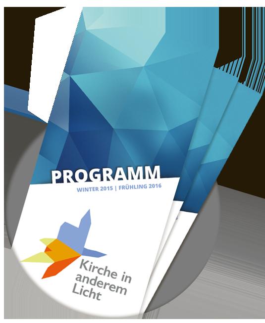 Programmflyer Sommer 2015 und Frühling 2016