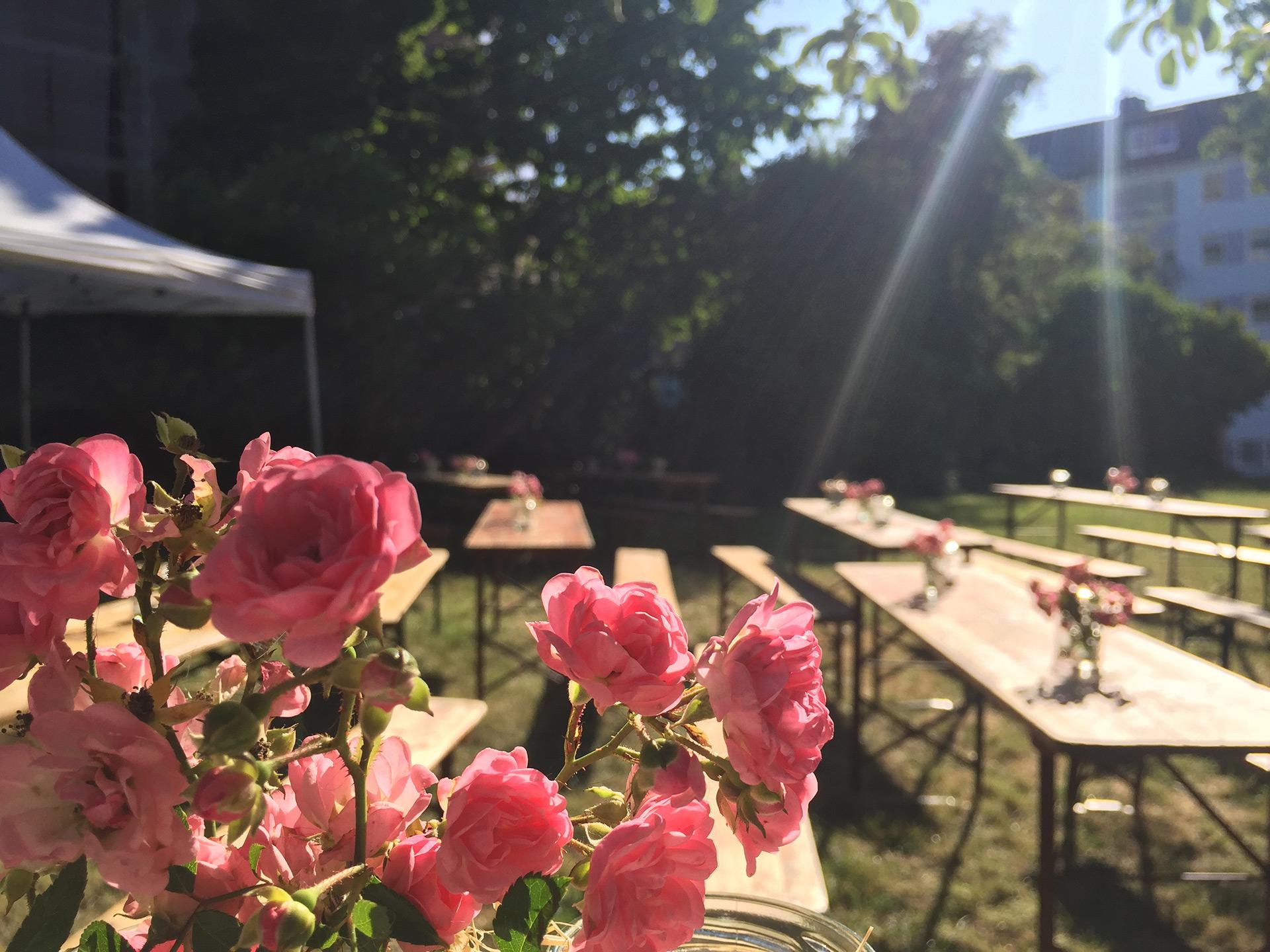 Unser Sommergarten 2019